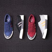 Mens Casual Shoes 2016 New Arrival Original Breathable Men Canvas Shoes Flat Lace-Up Shoes  Sport Designer New Brand Men Flats