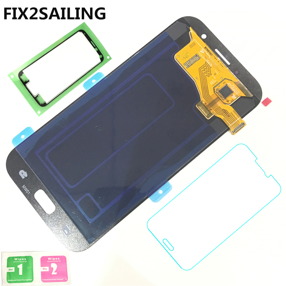 Super AMOLED LCD Display 100% Tested Working Touch Screen Assembly For Samsung Galaxy A7 2017 A720M A720Y SM-A720F A720FD A720