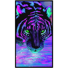 Cute Enigmatic Tiger Printed DIY Diamond Painting