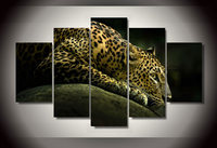 HD Printed Animal Leopard Picture Painting Wall Art Room Decor Print Poster Picture Canvas Free Shipping
