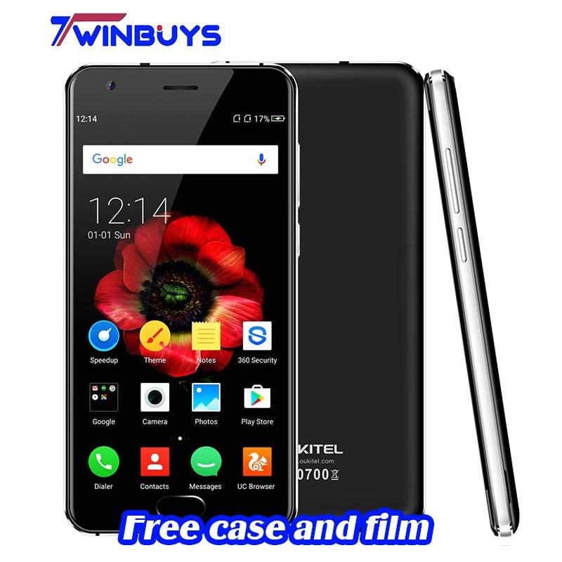 bilder für Original Oukitel K4000 Plus Android 6.0 Smartphone MT6737 Quad Core 1,3 GHz 2G RAM 16R ROM 4100 mAh Vorne Fingerabdruck Handy