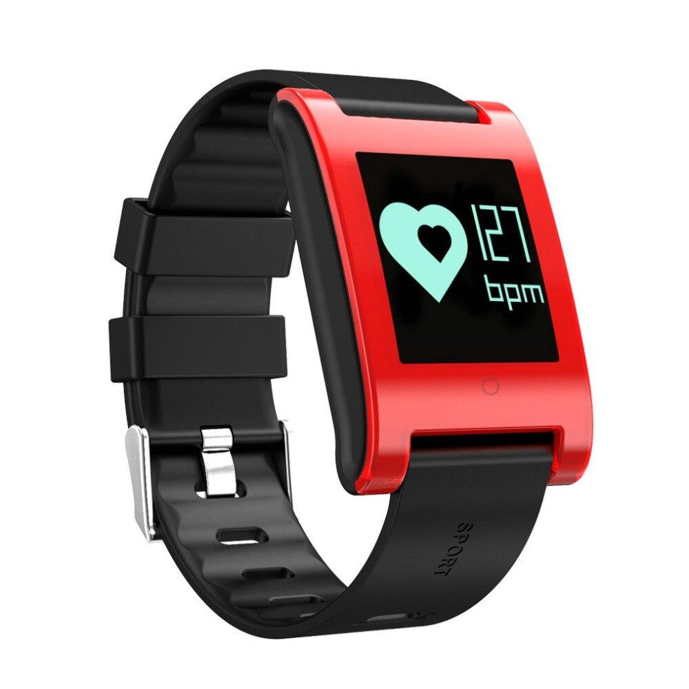 imágenes para DM68 Banda Inteligente Pulsera de Fitness Actividad Rastreador Heart Rate Monitor de Presión Arterial Llamadas Mensajes de Reloj Para El Teléfono