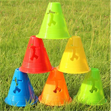 20 Pcs/Lot Wind-Proof Skating Cone Cup for Inline Skate Roller Skates FSK Slalom Trainning Competition