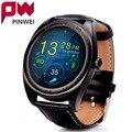 PINWEI Bluetooth Smart Watch IPS Круглый Экран Монитор Сердечного ритма Спортивные Часы Браслет Для Apple Android IOS Smart Electronics