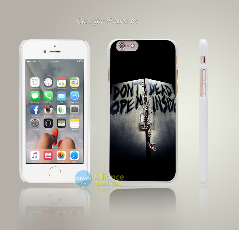 aa29 walking dead inside film Style Hard White Case Cover Coque for iPhone 4 4s 4g 5 5s 5g 5c 6 6s 6 Plus 6s Plus