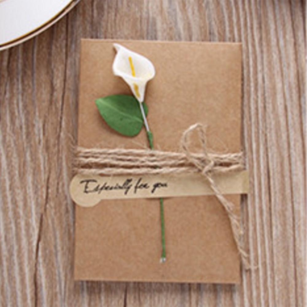 Aliexpress Buy 10pcs Diy Kraft Paper Handmade Dry Flower