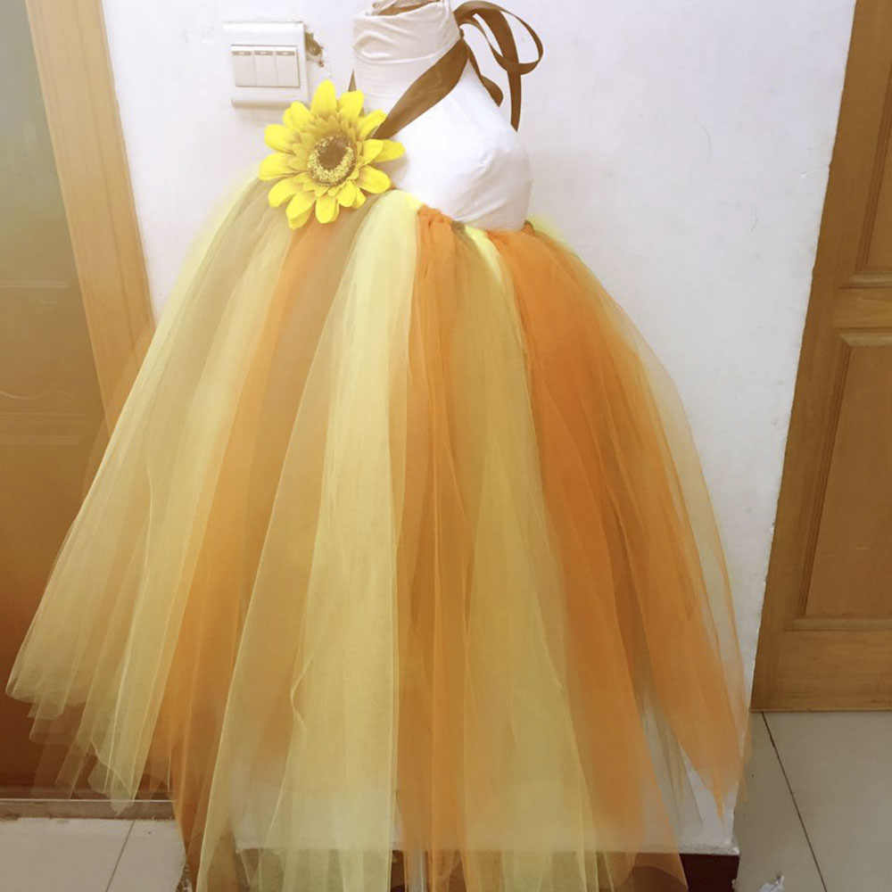 18e853255622 ... Scarecrow Halloween Girl Pumpkin Tulle Tutu Dress Girls Pageant Party  Trick or Treat Tutu Dresses For
