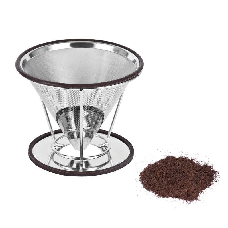 Kaffeefilter Edelstahl edelstahl kaffeefilter kaffee tropf gießen über kaffeemaschine tropf