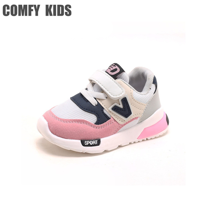COMFY KIDS Sneakers For Girls Sports Shoe Spring Autumn Fashion Soft Bottom Baby Toddler Sneakers Child Kids Boys Sports Sneaker