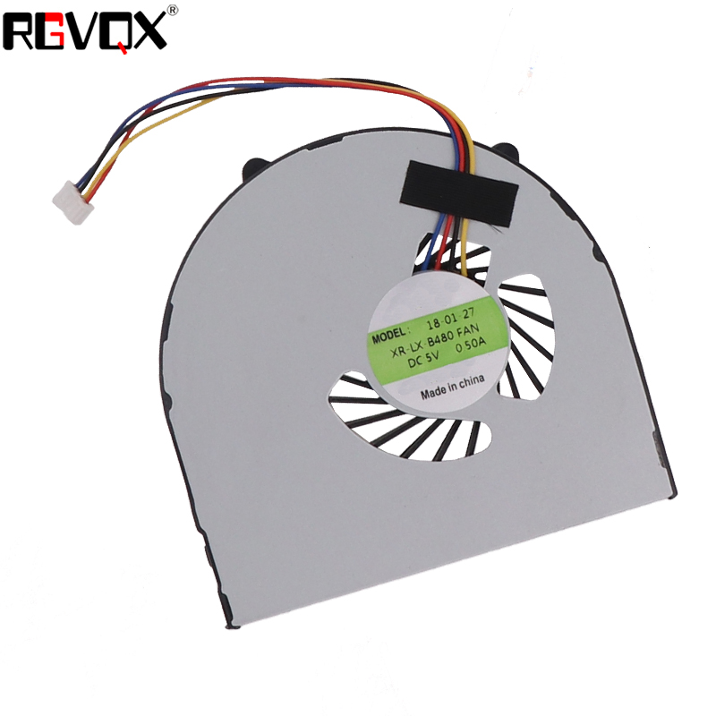 Купить с кэшбэком New Laptop Cooling Fan for LENOVO B480 B480A B485-B490 B590 M490 M495 E49 PN: KSB06105HB -BJ CPU Cooler Radiator