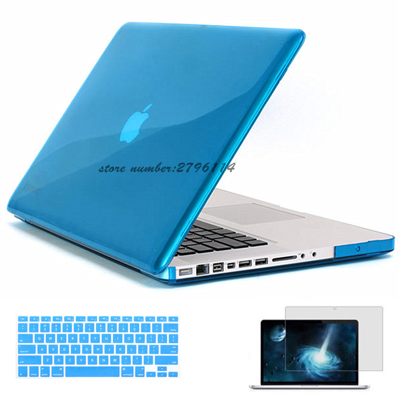 "Crystal Case For Macbook Air 11.6/""//13.3/"" Pro 13//15 Retina 12/"" Clear Hard Shell"