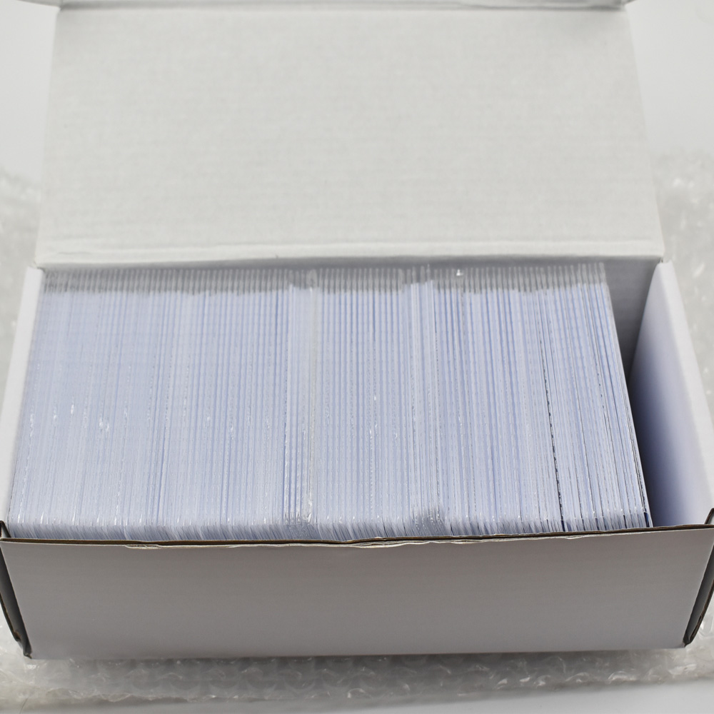 500pcs/lot EM4305 rfid tag blank card Thin pvc Card read and write writable readable RFID 125KHz Smart Card купить
