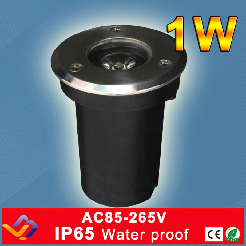 1w Ce&rohs Ac85-260v Led Outdoor Underground Lamp Waterproof Ip65 Led Spot Floor Garden Yard Led Underground Light Led Underground Lamps Lights & Lighting