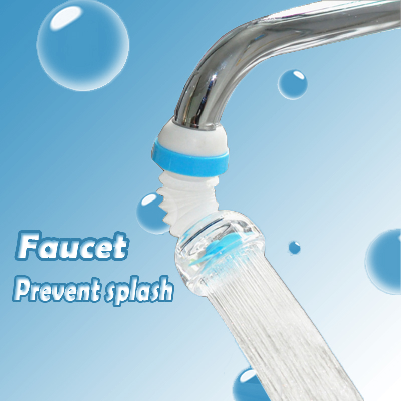 360 Degree Rotatable Water Faucet Aerator Bubbler Water Filter Swivel Head Water Saving Faucet Aerator Nozzle Tap Adapter Device