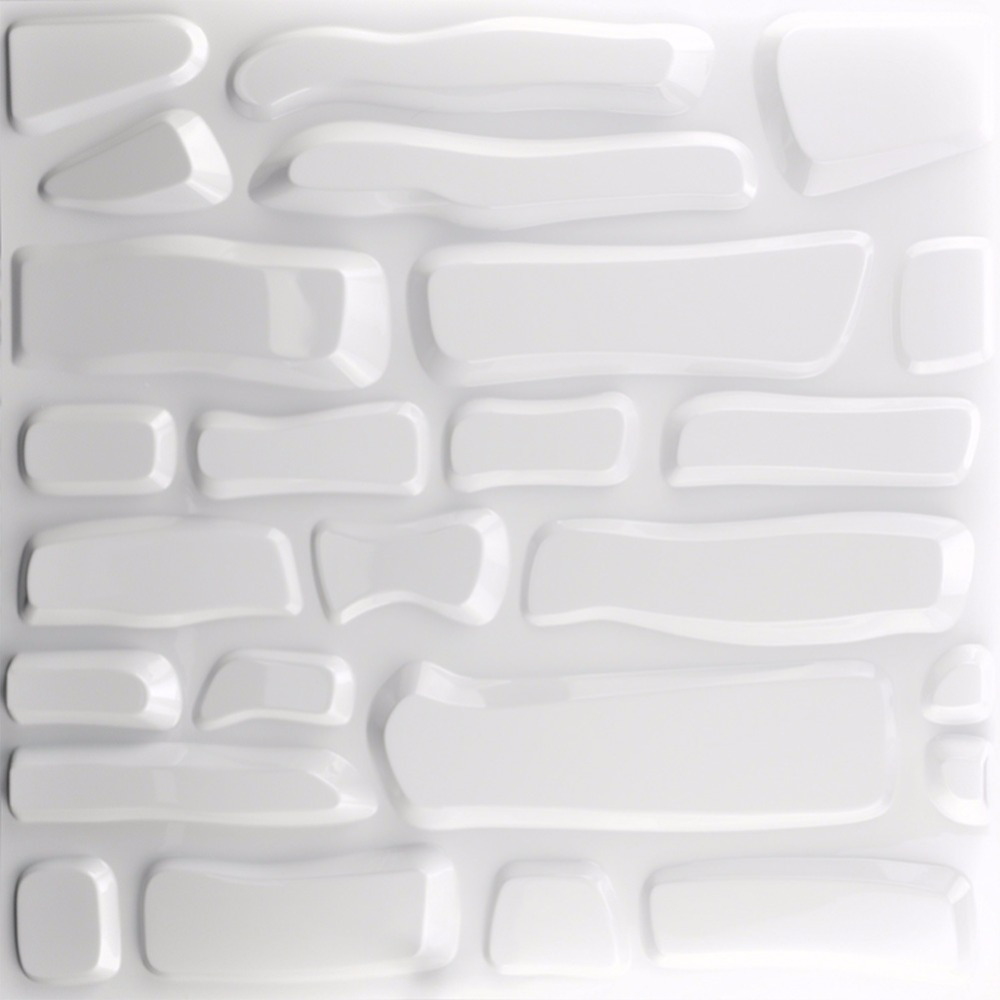 Embossed 3D Wall Panels Textured Design Art Pack of 12 Tiles 32 Sq ...