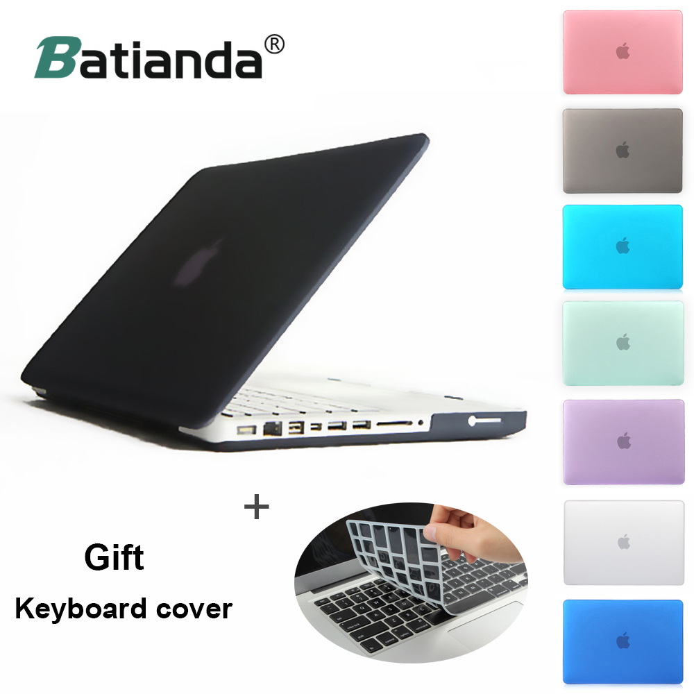 Rubberize Matte Case Cover Shockproof for Macbook 13 with USB-C 2018 2017 2016