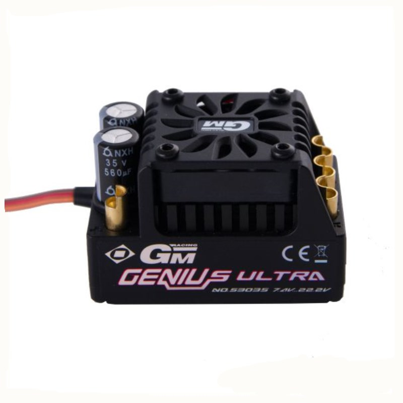 Graupner GM-GENIUS ULTRA T Telemetry ESC RC Brushless ESC Quadcopter Helicopter Multicopter Motor Speed Controller Rc Esc