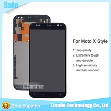 Replacement Parts LCD Display With Touch Digitizer Screen + Frame Assembly For Motorola Moto X Style XT1570 XT1572