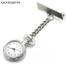 Gorben Size Nurses Watch Clip-on Quartz Pocket Watch
