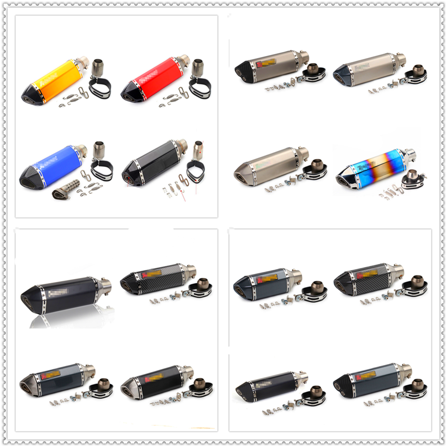 51mm moto modifier pot d'échappement silencieux DB pour YAMAHA XMAX125 XMAX250 XMAX 400X300 V-MAX 1700 VMAX1 SEROW225