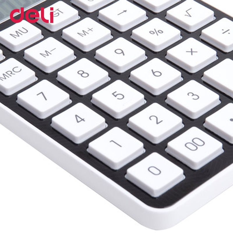 Deli quality fashion two power calculator for school kid office electronic accounting su ...