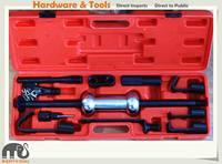 13pc 10LB Slide Hammer Dent Puller W Hooks Auto Truck Body Panel Fender Repair