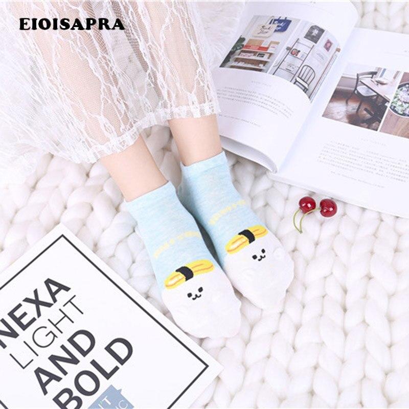 [Eioisapra] Япония сезон: весна–лето новый продукт хлопок прекрасный мультфильм Цвет разнообразие в студенческом стиле Носки для девочек Для же...