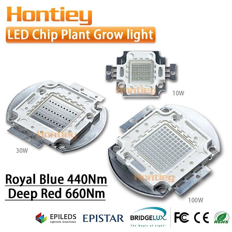 Levou Crescer Luzes chip full spectrum 7 comprimento Chip Size : 30mil And 45mil (epistar, Epileds, Bridgelux, Osram, Sanan, Cree)