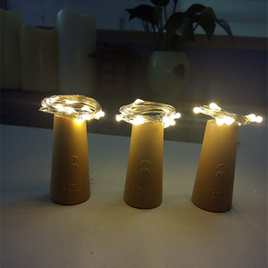 Image 4 - Included Battery Powered Garland Wine Bottle Lights with Cork Copper Wire Colorful Fairy Lights String for Party Wedding Decor