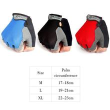 цена на Breathable Cycling Gloves Half Finger Men Women Summer Sports Shockproof Bike Gloves MTB Bicycle Gloves Guantes Ciclismo