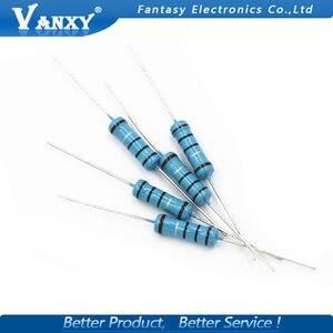 20pcs 1W Metal film resistor 1% 1R ~ 1M 2R 10R 22R 47R 100R 330R 1K 4.7K 10K 22K 47K 100K 330K 470K 1 2 10 22 47 100 330 ohm(China)