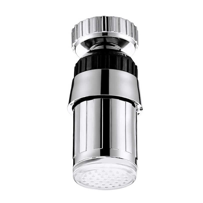 Новый серебристый кухонный светильник для раковины, 7 цветов, светодиодный светильник для душа, лампа для домашнего декора, Прямая поставка