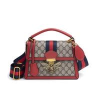 LKPRBD 2018 Women Handbags Fashion Messenger leather Bag Flap Crossbody Bee Bag Shoulder Bolsa High Quality Small Handbags
