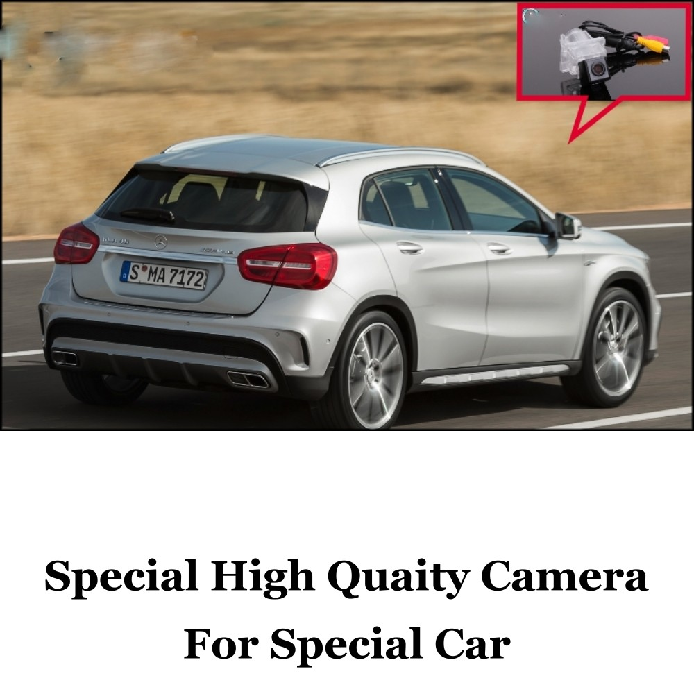 Car Camera For Mercedes Benz GLA Class MB X156 2013~2015 High Quality Rear View Back Up Camera For Fans  CCD + RCA Car
