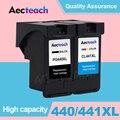 Aecteach PG440 PG 440 CL 441 XL чернильный картридж для Canon PG-440 CL-441 для Canon 440XL Pixma 4280 MX 438 518 378 MX438 принтер