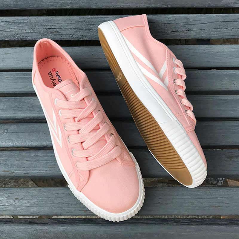 EU35 44 New France Feiyue Classic College Casual Fitness Walking Lover Shoes Students Girls Man Woman