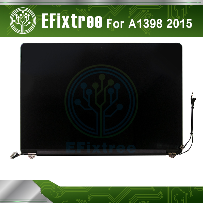 2015 New MJLQ2 MJLT2 LL/A 15 inch A1398 LCD Assembly For Apple Macbook Pro 15.4A1398 Display Screen image