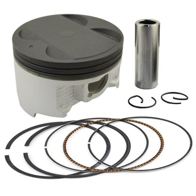 Motorcycle STD Cylinder Bore Size 83mm Piston & Piston Ring Kit for Suzuki SV650 SV 650 2003-2012