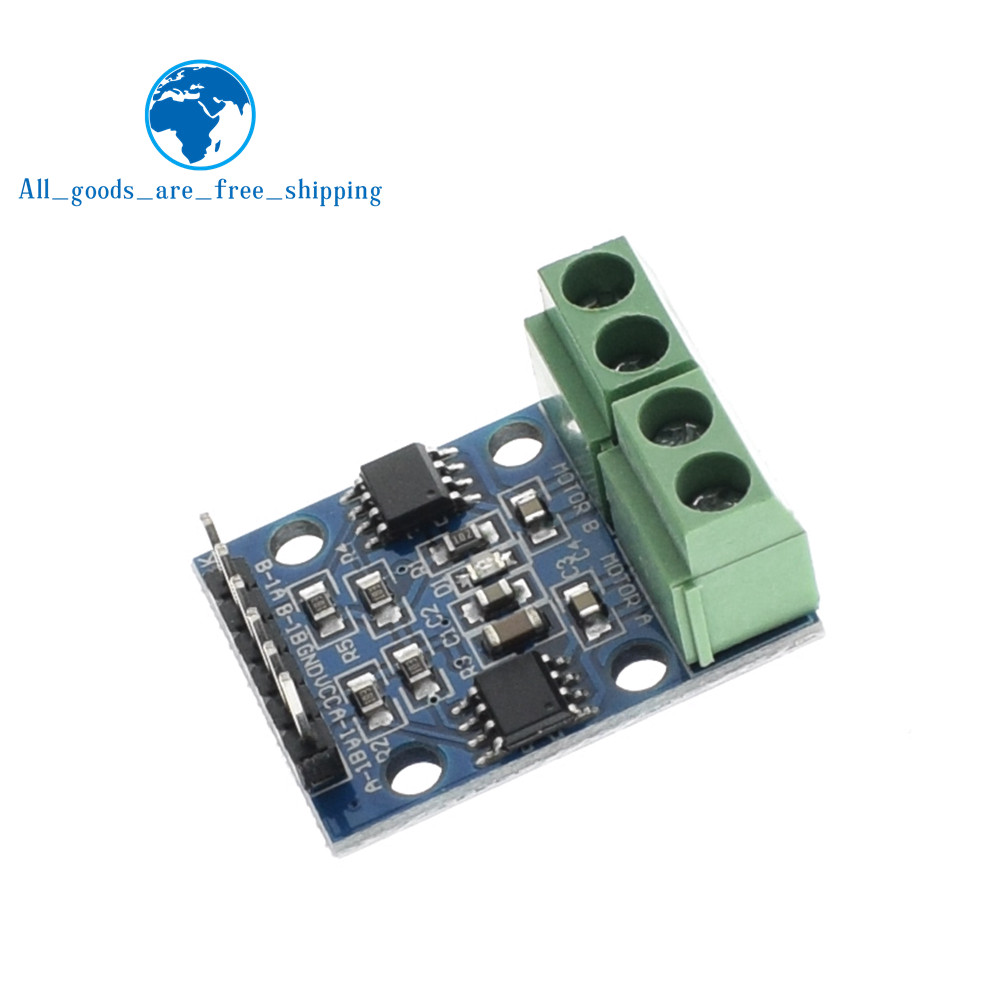 L9110s H Bridge Stepper Motor Drive Module Dual Dc Step Driver Circuit Controller