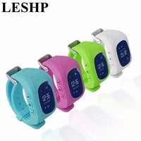 LESHP Smart Watch Children Kid Wristwatch Q50 GSM GPS GPRS Locator Tracker Anti Lost Smartwatch for iOS Android pk mi band 2