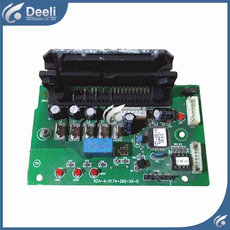 95% new good working for air conditioning board RZA-4-5174-292-XX-4 /1/3 RZA-4-5174-292-XX-2 Frequency Module board цена и фото