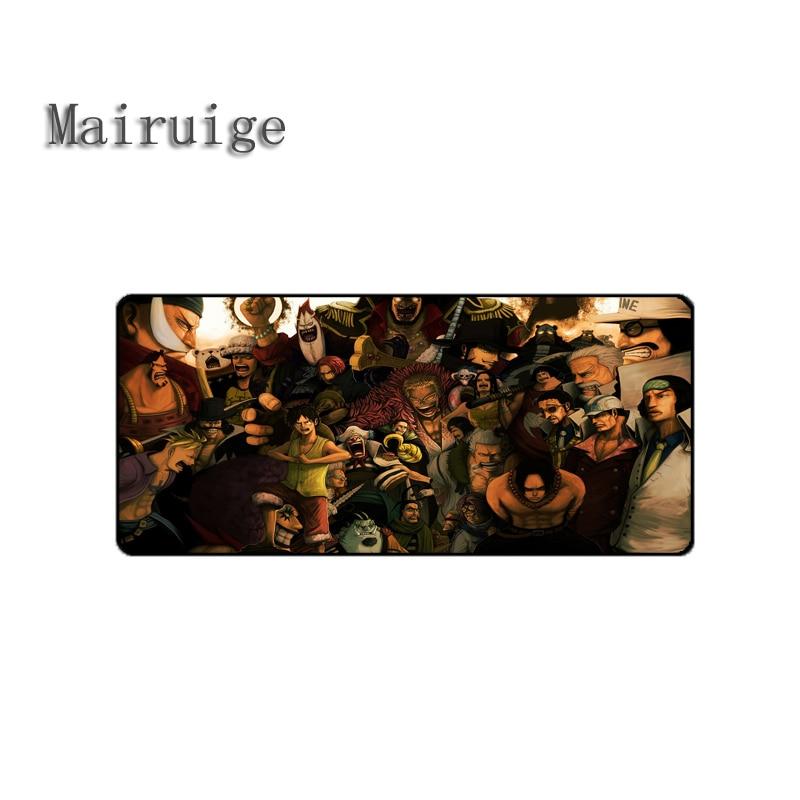 Mairuige Аниме Коврик для мыши Одна деталь коврик более выбрать большой Коврики на стол игровой коврик портативных ПК противоскользящие резино...