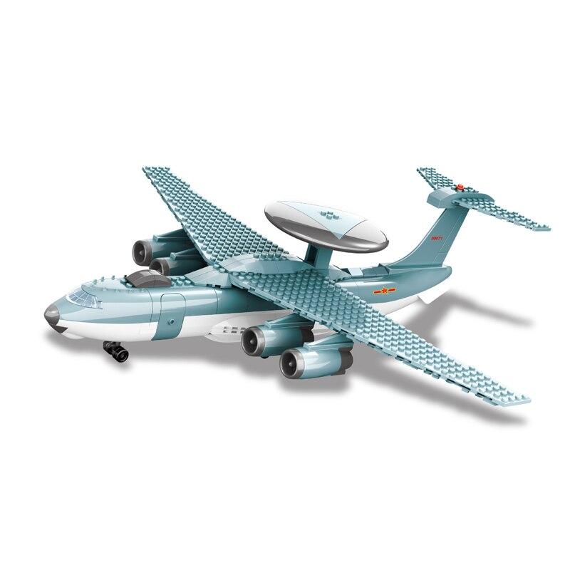 202pcs Fighter Plane Building Block Wange Block Creative Bricks Toy Educational Building Block Brick Compatible with Lego KJ2000