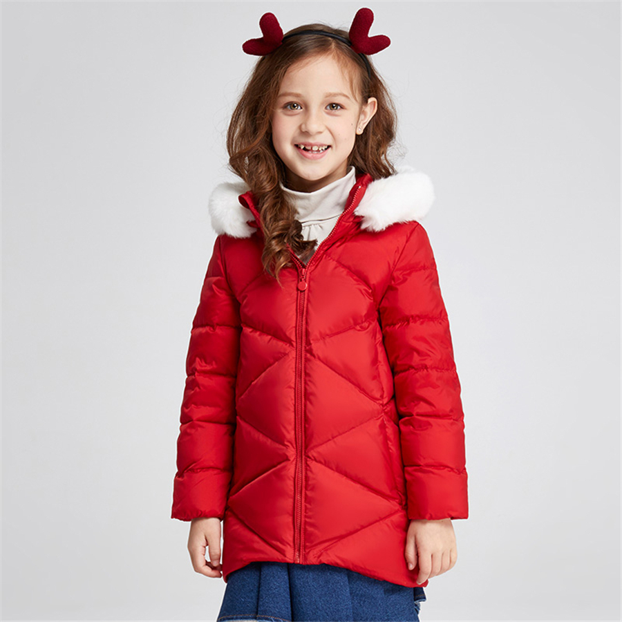 Girls Winter Jacket Child Girls Down Coat Parkas Down Jackets Hood Warm Coat For Girls Winter Kids Down Jacket Fashion 50F1549 casual 2016 winter jacket for boys warm jackets coats outerwears thick hooded down cotton jackets for children boy winter parkas