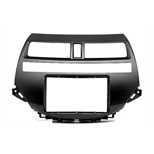 2 Din Car Radio Stereo Fascia Panel Frame DVD Dash Installation Kit for HONDA Accord 2008-12 without Navigation Auto A/C liislee 2 din plastic frame panel for alfa romeo giulietta 940 2010 2016 aftermarket radio stereo dvd gps navi installation