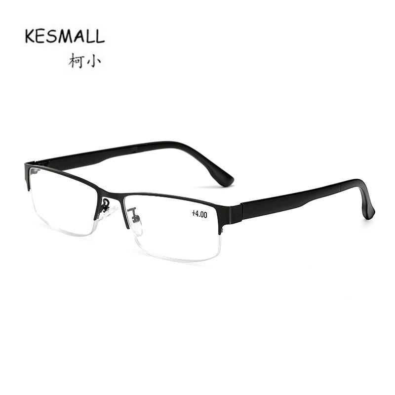 KESMALL New Square Shaped Reading Glasses Women Mens Retro Light Reader Glasses Old People Eyeglasses Oculos De Leitura XN747