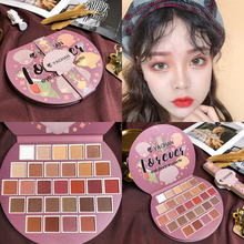 Professional Mermaid Eyeshadow Palette 28 Color Glitter Shimmer Matte Makeup Palette Pigmente Eye Shadow Pallete Cosmetic serseul portable 78 color cosmetic makeup eye shadow blusher palette with smudger