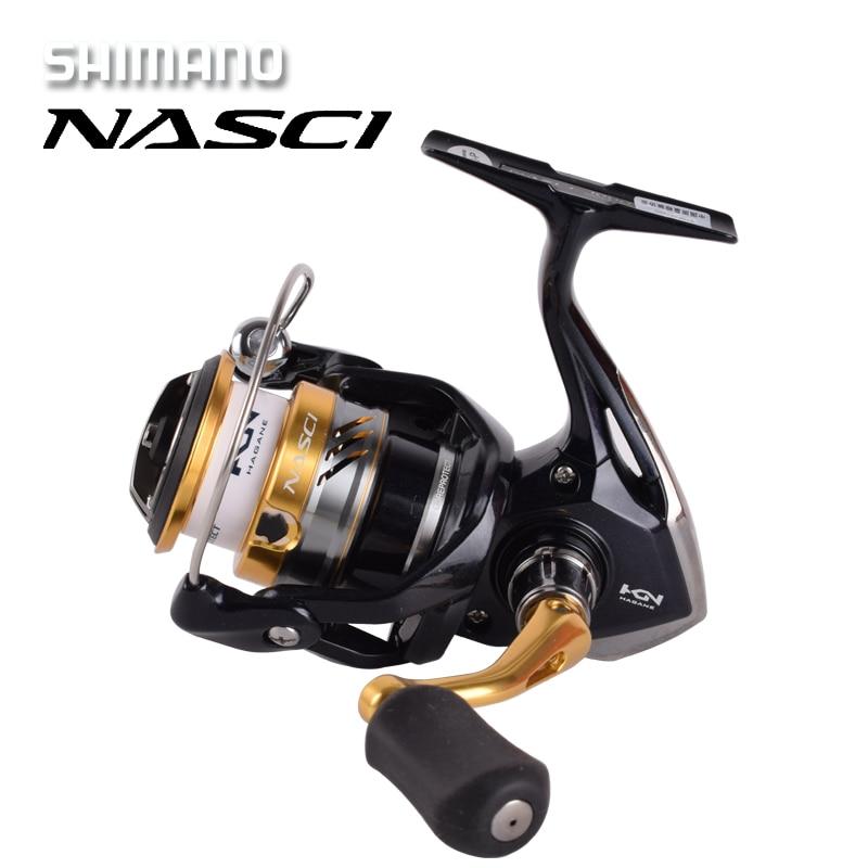 2016 New MODEL Shimano NASCI 500 1000 2500 C3000HG 4000xg C5000xg Spinning Fishing Reel 4 1BB