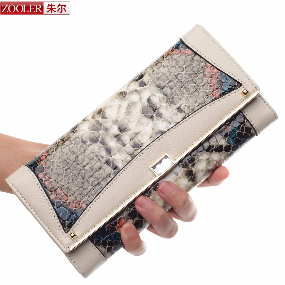 ФОТО ZOOLER 2016 New Hot Sale Wallet Women's Wallet Solid Leather Wallets Fashion Women Pures High Quality/8619 COLORS