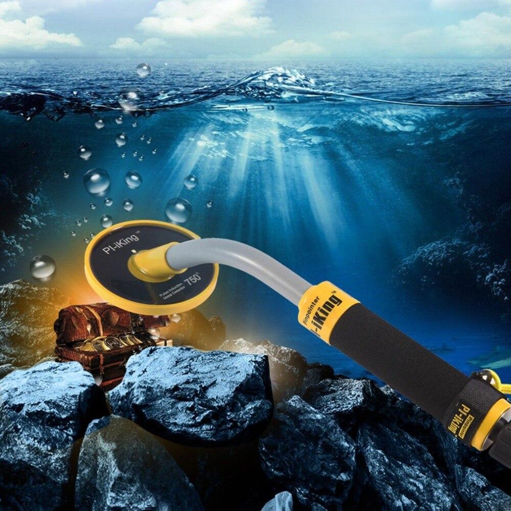 Détecteur de métaux pi-iking 750 30 m ciblant l'induction d'impulsion Pinpointer (PI) détecteur de métaux sous-marin vibrateur étanche - 4